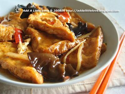 Home Style Tofu Recipe