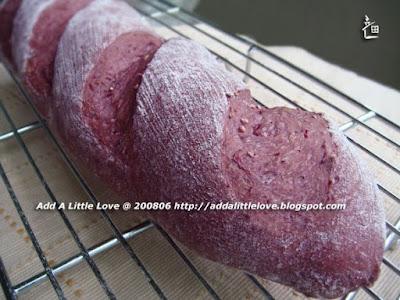Interesting Fruit Bread--Blackberry