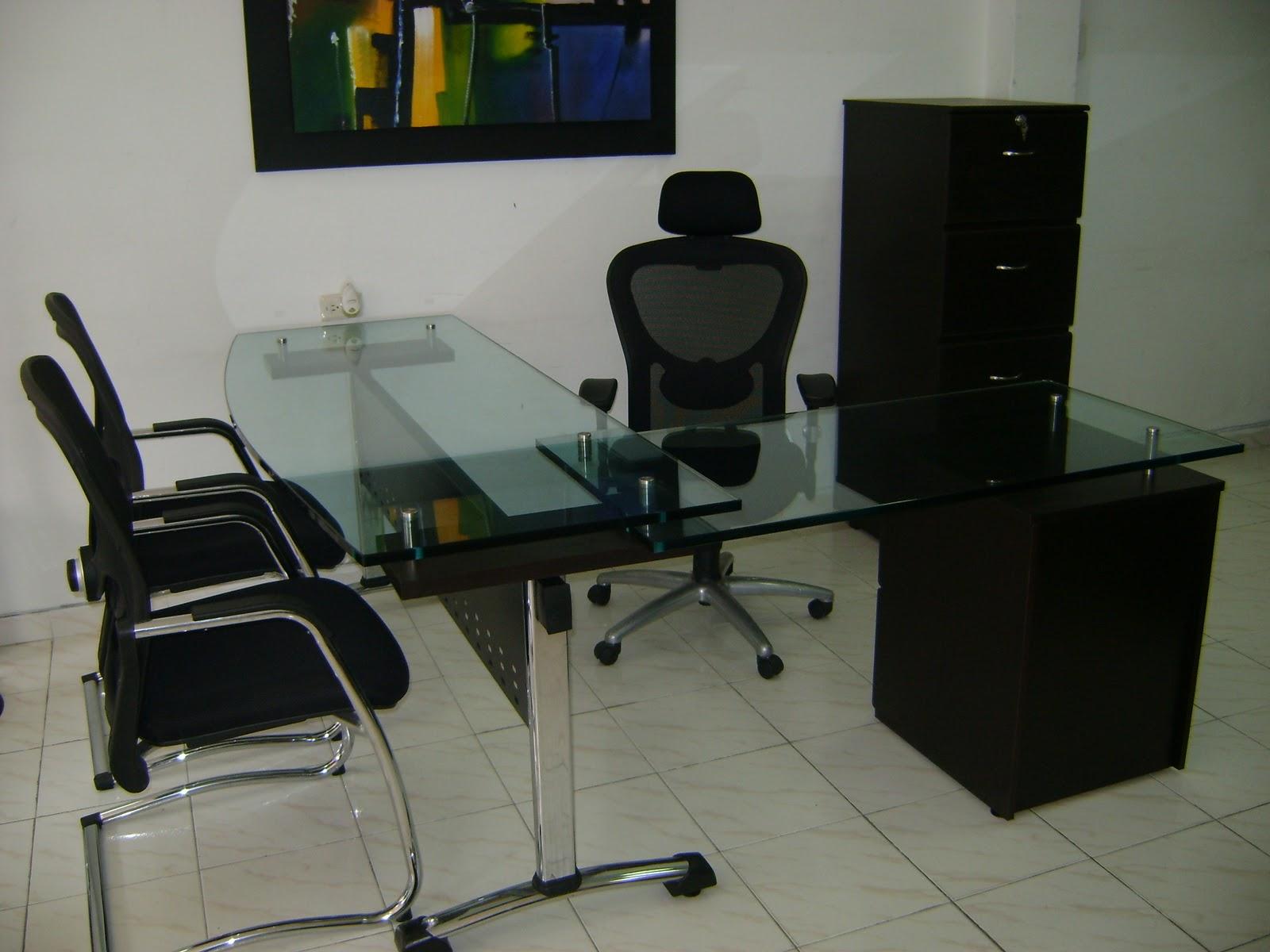 Muebles eduhel office dise o calidad escritorios en cristal - Disenos de escritorios ...