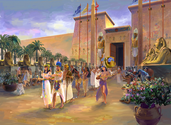 Ancient Celebration The Opet Festival In Ancient Egypt
