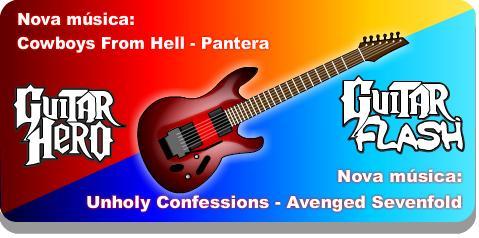 jogo de guitar flash