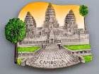 Angkor Watt, Cambodia (3 pcs)