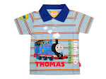 Thomas and Friends colar Tee-blue colar