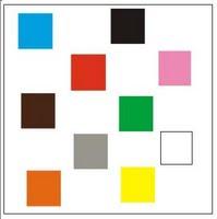Troca das cores