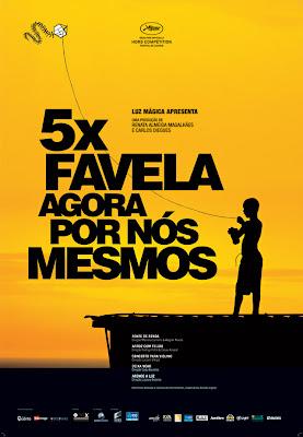 Filme Poster 5x Favela - Agora Por Nós Mesmos  Nacional
