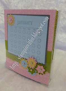Calendar In a CD Case Class