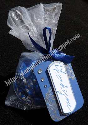 ELCTRIC BLUE Wedding Bonbon Treat