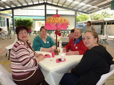 Friends Supporing The Arty Farty Morning Tea Party