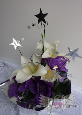 Star of the Night Flower Box Table Decoration