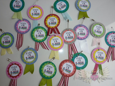 School Rep Voting Ribbons