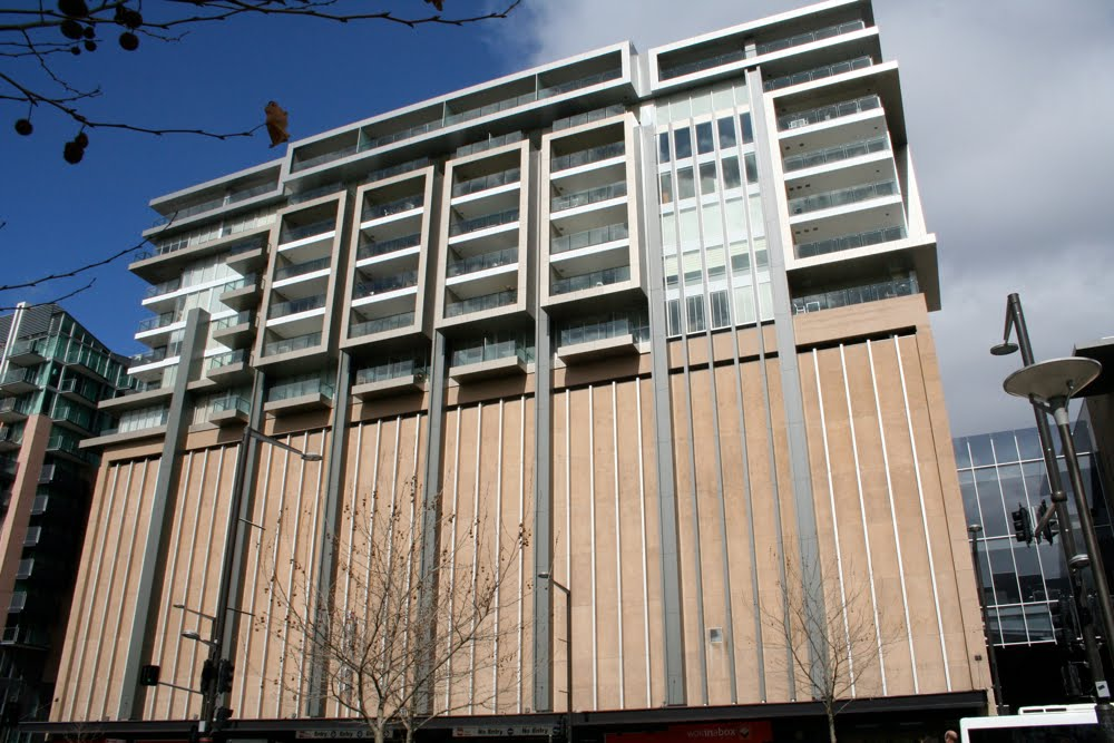 Buchan lee blog mixed use building 223 north terrace for 223 north terrace adelaide