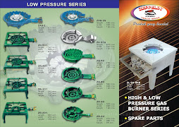 Kompor Gas High & Low Pressure