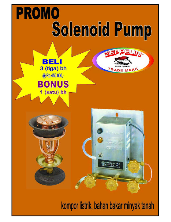 Selonoid Pump Electric (3kran)