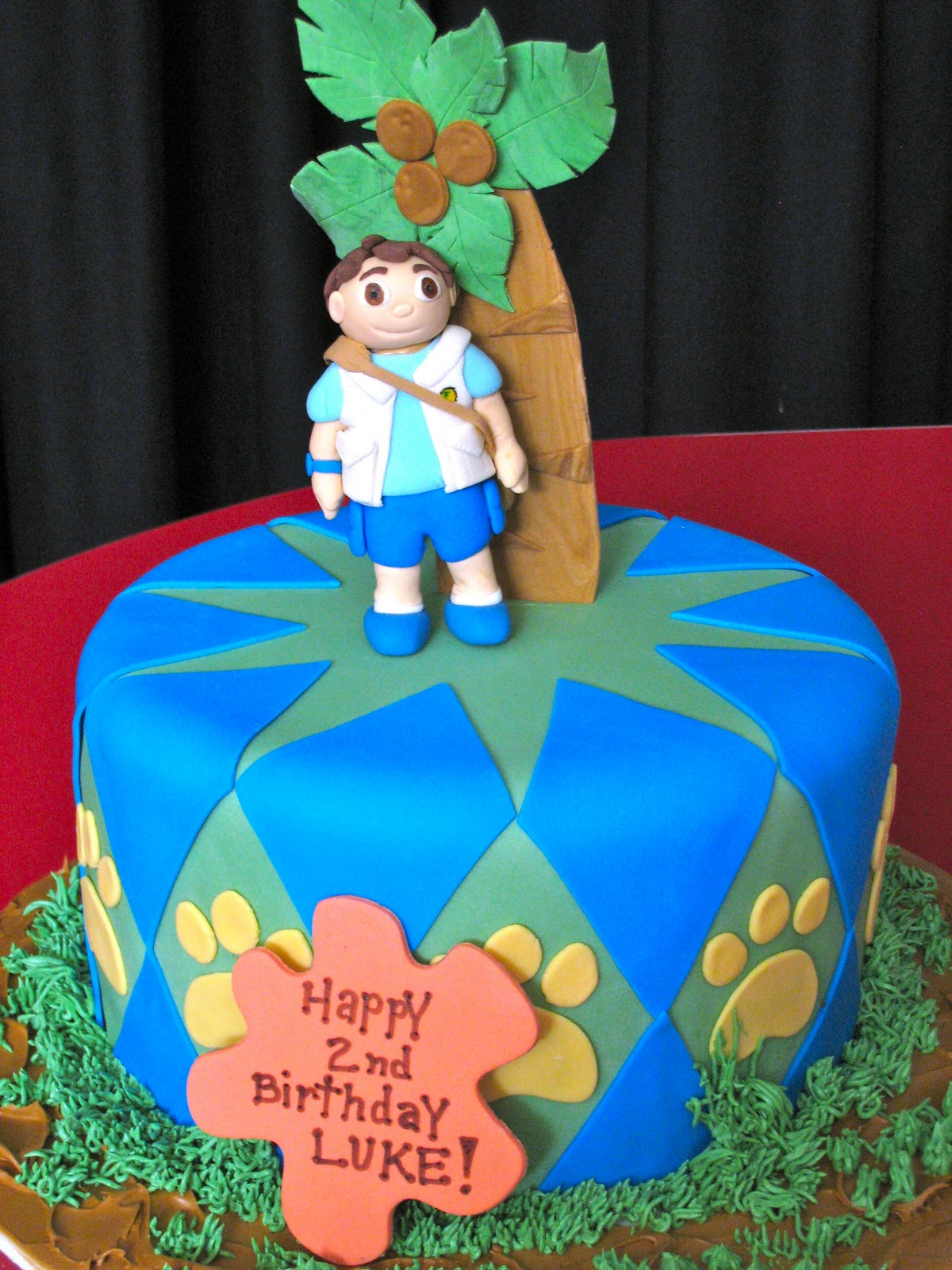 SweetLee Made Go Diego Go - Go diego go birthday cake