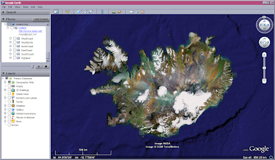 Map of iceland for google earth and google maps islandia geomatics after free map of iceland gumiabroncs Gallery