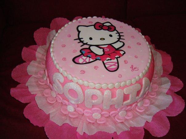 Tortas infantiles kitty - Imagui