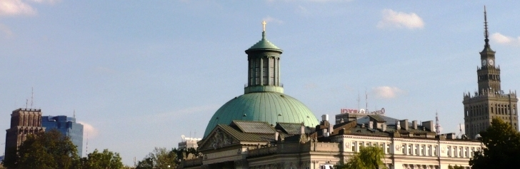 Warszawa - pomieszane style
