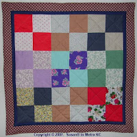 quilt with 36 squares