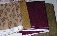 Background and border fabrics