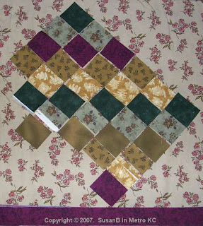 fabric swatch arrangement