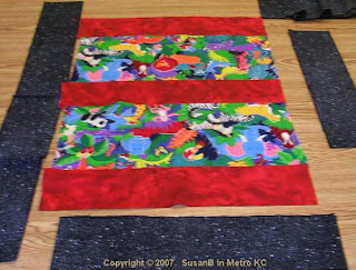 easy colorful quilt top
