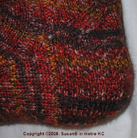 eye of partridge heel