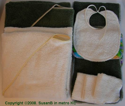 terry cloth baby gifts