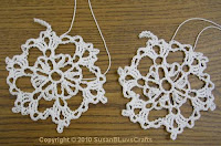 snowflake ornaments - Margaret