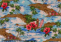 island theme print