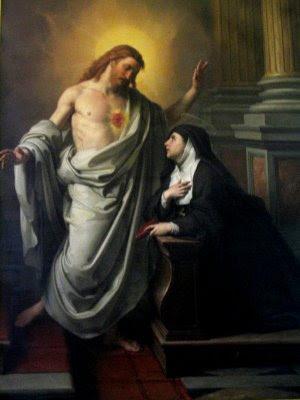 Sta Margarita María de Alacoque