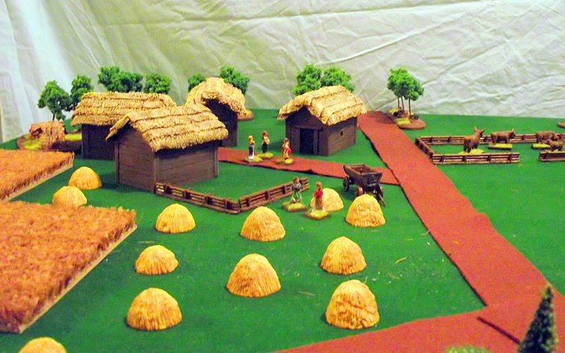 Anglo saxon model house