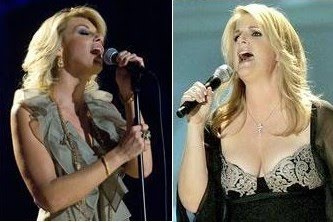 Faith hill breast size