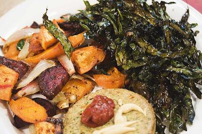 Crisp Roast Kale