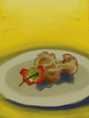 Apple core by Richard McFarland