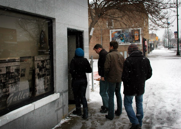 Artists and Engineers  enters the Ghetto Gallery