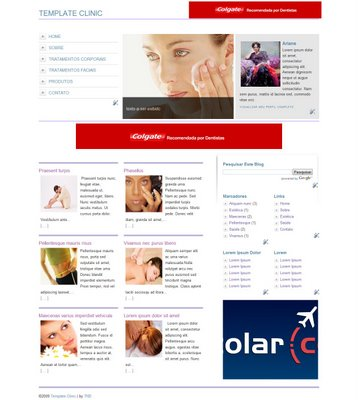 Clinic Blogger Template