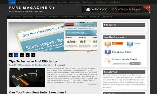 pure magazine v1 premium
