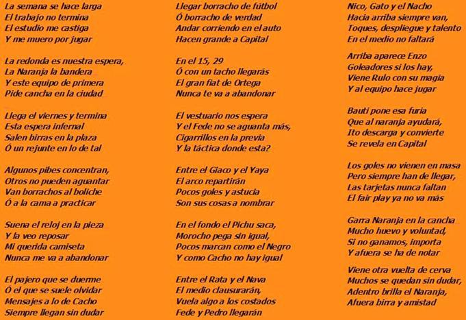Poema Naranja
