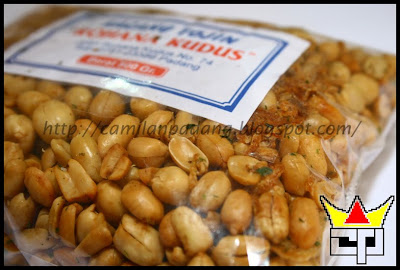 Camilan Padang KACANG TOJIN (Close Up)