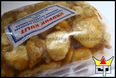 Camilan Padang KRUPUK KULIT / JANGEK MENTAH (Close Up)