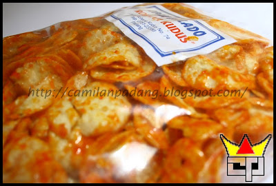 Camilan Padang OPAK BALADO (Close Up)