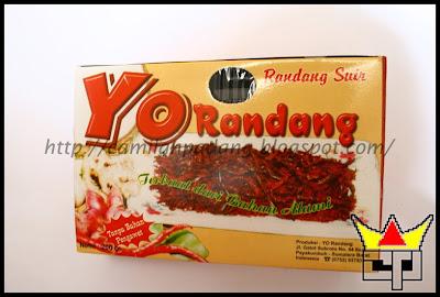 Camilan Padang RENDANG SUIR (YO RANDANG)