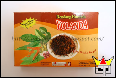 Camilan Padang RENDANG RUNTIAH / SUIR (YOLANDA)