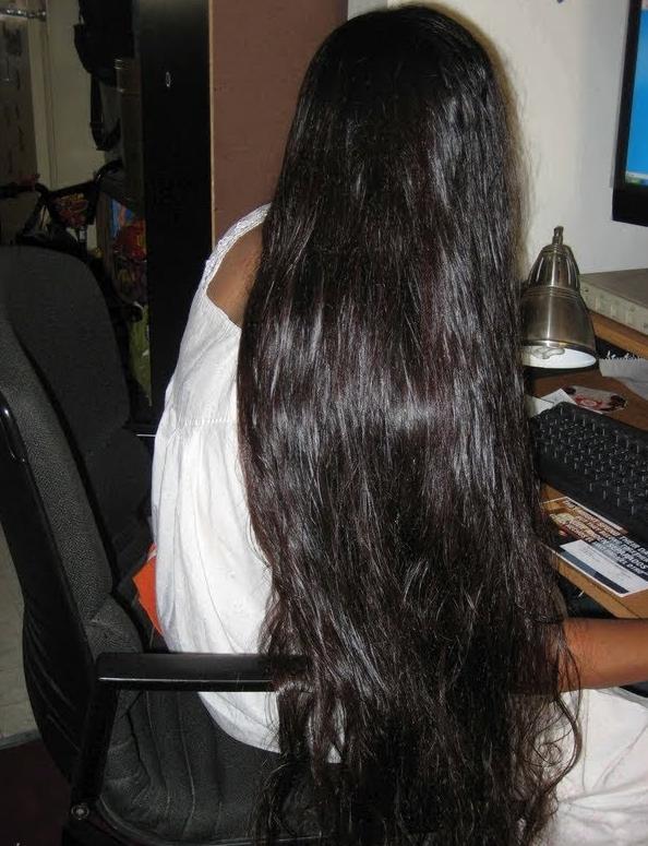 Lovely Long Hair Indian Long Hair