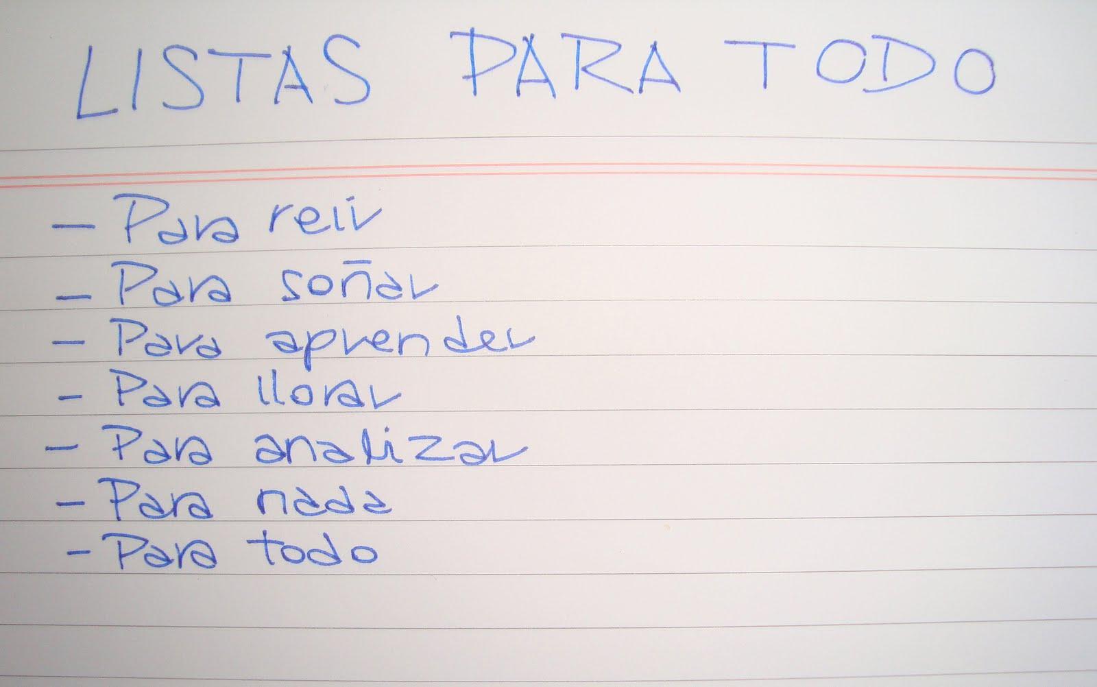 Lista para todo (y más)