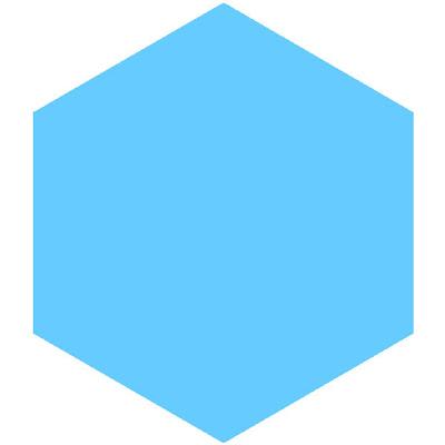 へたのよこみち: 折り紙 正方形から作る六角形