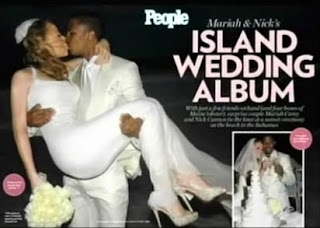 Mariah Carey and Nick Cannon's Wedding Photos on People Magazine