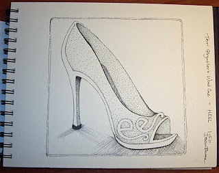 my drawing for Word Cue - Heel