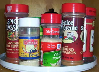 What's in my cupboard - spices view two