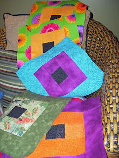 This batch of blocks are made from some of my scraps.